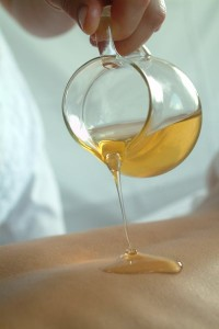 Honig-Massage